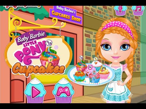Baby Barbie Little Pony Cupcakes Online Free Flash Game ...