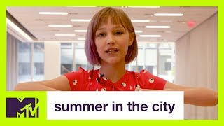 Grace VanderWaal Answers 52 Questions In 52 Seconds | #TELLUSEVRYTHNG | Summer in the City