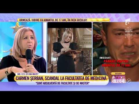Carmen Șerban, scandal la Facultatea de Medicină