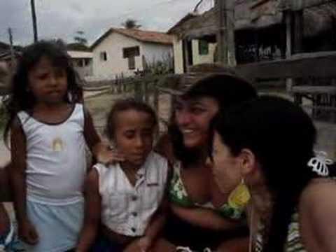 As crianças do povoado de Mandacaru