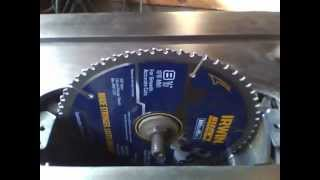 Table Saw - Blade Diameter Upgrade