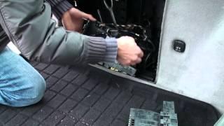 Mercedes Steuergerät SAM W203 erneuern in 20 min.nach Elektronik-problem with electronics.DEUTSCH