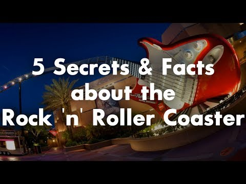 5 Secrets and Facts About Rock 'n' Roller Coaster Starring Aerosmith