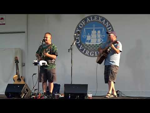 #Irishfest in #oldtownalexandria - #Irishsong duet p.0