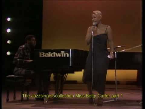 In concert Betty Carter 1980 part 1