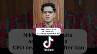 Tiktok coming back in india? 😳😳 #shorts