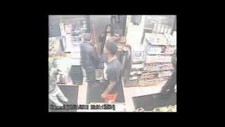 Caught on Tape: Elderly Shopkeeper Punched by Shoplifter