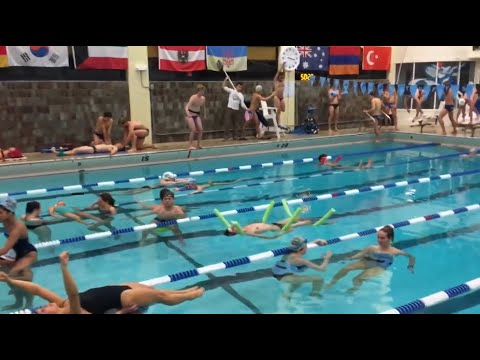 Mannequin Challenge! - Tufts University Swimming & Diving 2016-2017