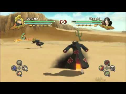 itachi crow clone jutsu tutorial and other characters naruto