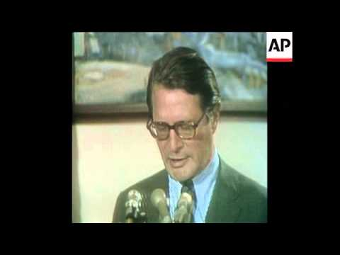 SYND 22-8-73 ATTORNEY GENERAL ELLIOT RICHARDSON REPLIES TO SPIRO AGNEW ALLEGATIONS
