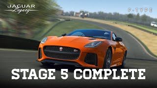Real Racing 3 Jaguar Legacy F-Type SVR Stage 5 Upgrades 1131313 - 128 Gold - 60 Reward = 68 Gold RR3