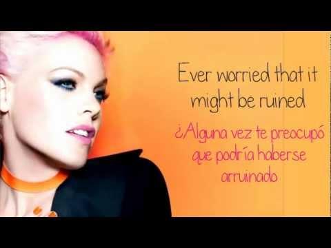P!nk - Try (Lyrics & Traducción en Español)