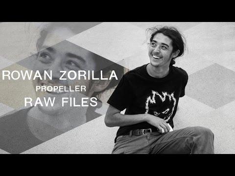 "Rowan Zorilla's ""Propeller"" RAW FILES"