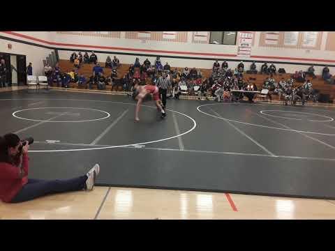 Liam Hermanson Boscobel High School Wrestling Tournament