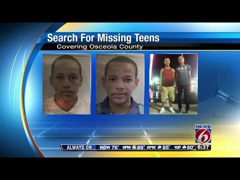 2 teenage brothers still missing in Central Florida