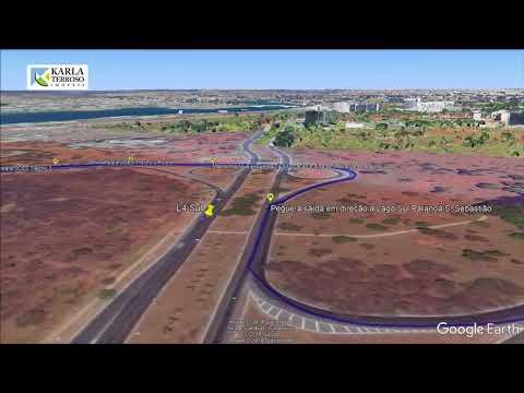 Como chegar no Condomínio Solar de Brasilia, Jardim Botanico
