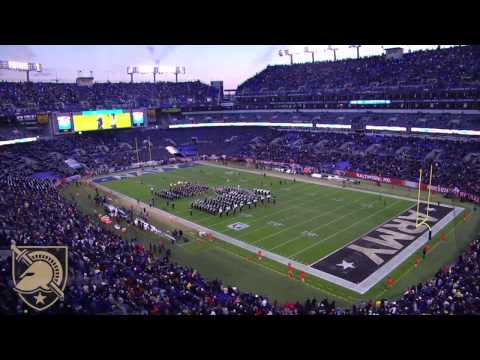 Army Football: 2016 Army-Navy Game Time Lapse