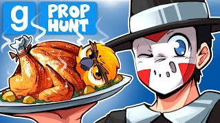 Gmod Ep. 100 - MY 100TH GARRY'S MOD VIDEO! (Thanksgiving OWL) Prop Hunt!