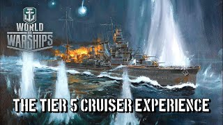 World of Warships - The Tier 5 Cruiser Experience