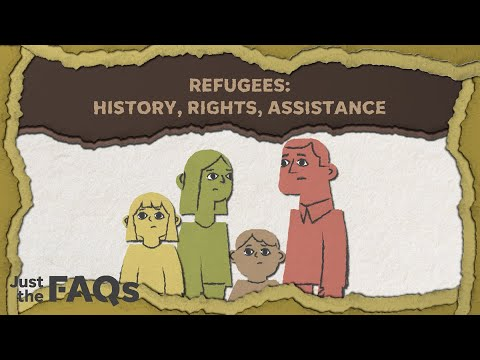 How refugees and asylum seekers can resettle in the US | Just the FAQs