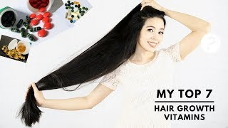 My Top 7 Vitamins & Supplements for Faster Hair Growth & Thicker Hair-Beautyklove