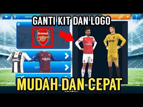 How To Change Dream League Soccer Logo To Real Team Logo In DLS 19 Dream League Soccer 2019.