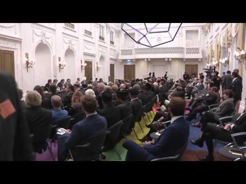 The Hague, Holland: Khalifa Of Islam visits Dutch National Parliament