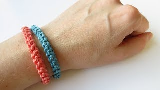 Something a little different today, as I show you how to crochet a cord bracelet! I love crocheting and making friendship bracelets since I was a child so I hope ...
