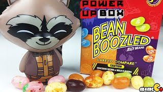Power Up Box: Marvel Guardians of the Galaxy And Bean Boozled Jelly Beans - June Power Up Box