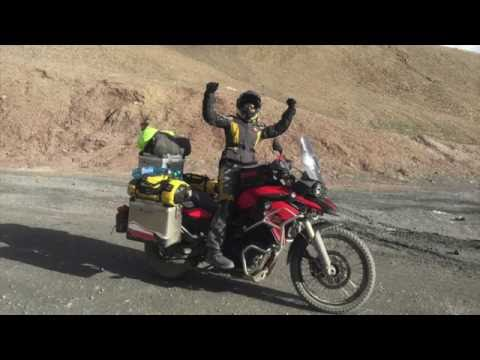 Central Asia on motorbike - 14 495 km, 23 days of adventure in 163 sek.