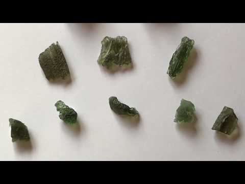 Moldavite And How To Tell It's Genuine