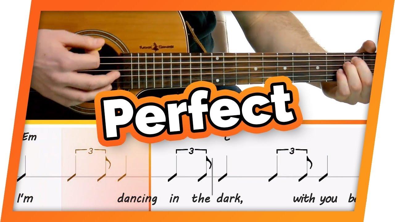 perfect ed sheeran tabs pdf