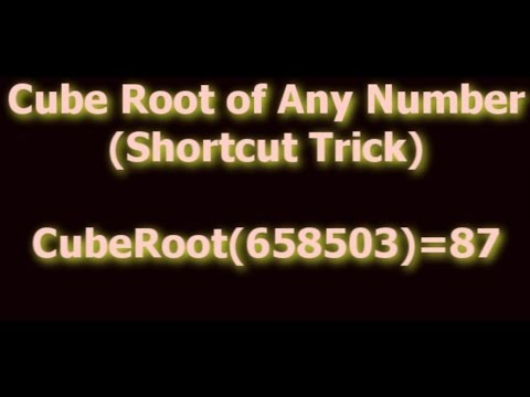 Image result for cube root short trick