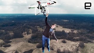 Skydiving from drones and picking up stuff with Lowe's exoskeleton | ICYMI