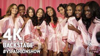 4K The Victoria's Secret Fashion Show 2016 in Paris Backstage