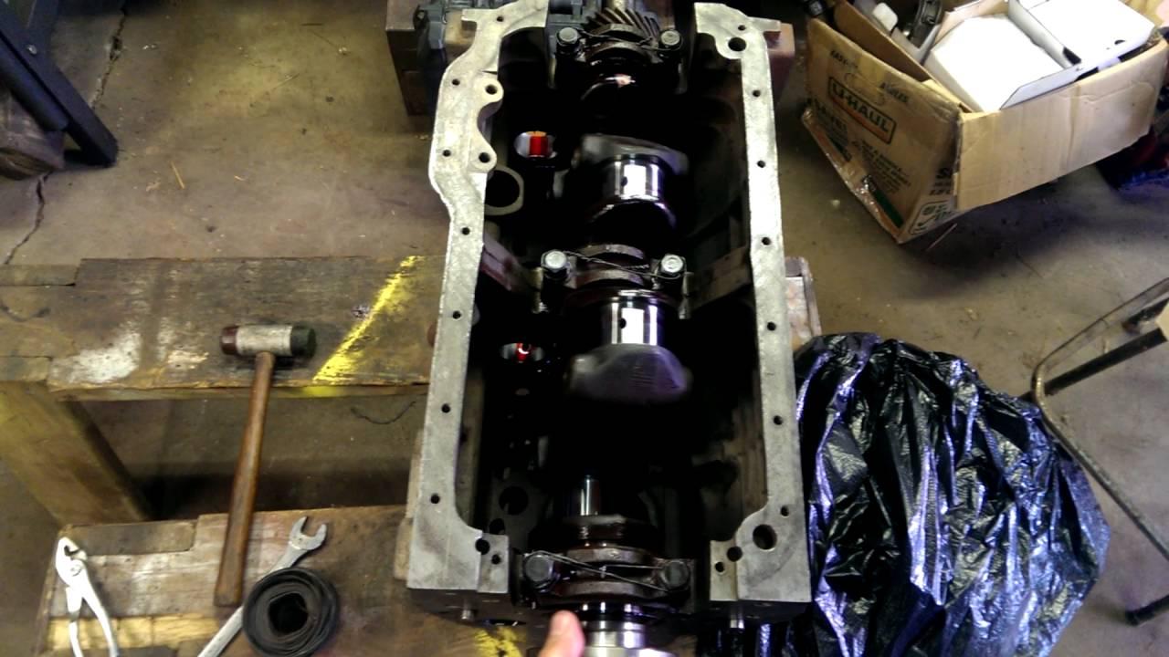 Farmall H Crank installed