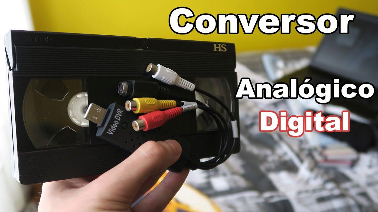 Conversor Analógico Digital Digitaliza Tus Cintas Viejas Youtube