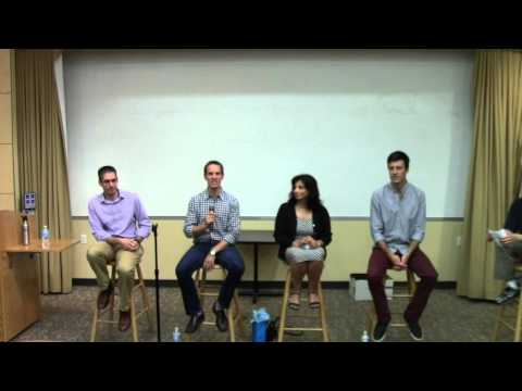 Tufts Computer Science Career Panel, September 15, 2015