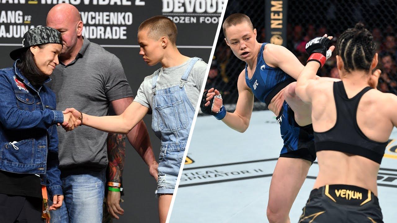 In Depth: Rose Namajunas vs Zhang Weili at UFC 261