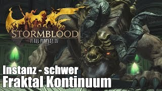 "Final Fantasy XIV: Stormblood | 🏛 Fraktal Kontinuum ""schwer"" 