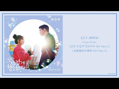 【AUDIO 韓繁中字】유승우 (柳昇佑) - I Luv U Luv [일단 뜨겁게 청소하라 (先熱情的打掃吧) OST Part.3]