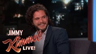 Kit Harington asked Stevie Wonder A Very Awkward Question thumbnail