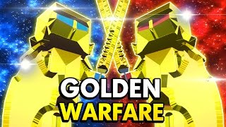 WAR OF THE GOLDEN UNITS IN ANCIENT WARFARE 2! (Ancient Warfare 2 Funny Gameplay)
