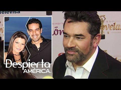Eduardo Santamarina opina del divorcio de su ex Itatí Cantoral