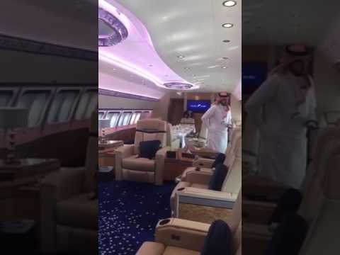 UAE Prince Luxurious Private Jet