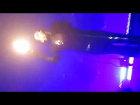 Front Row Video Of Marilyn Manson Getting Crushed By Prop Guns in NYC #1
