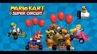 QUEMANDO LLANTA PARA CONSEGUIR LA COPA ESTRELLA | Mario Kart super circuit | Games TV