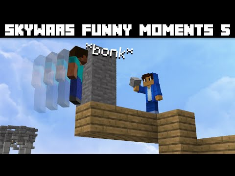 Skywars Funny Moments 5 | Now Kills 99.9% Of Germs
