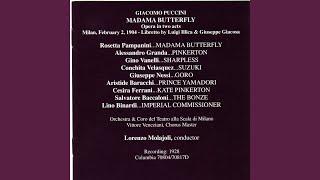 Madama Butterfly: Act II: Io scendo al piano