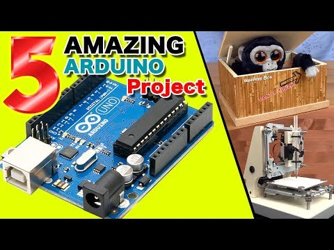 Download 5 AMAZING Arduino project DIY